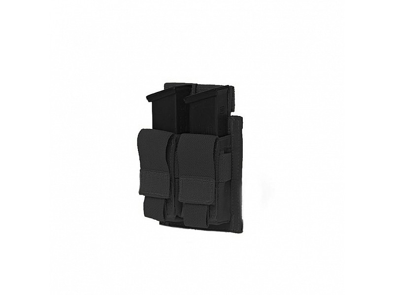 Подсумок Direct Action Double DA 9mm Pistol Pouch Warrior Assault Systems на 2 магазина, цвет – черный