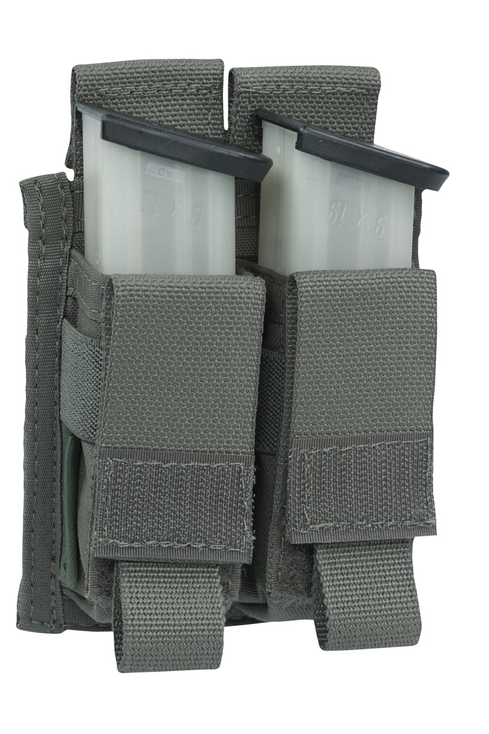 Подсумок Direct Action Double DA 9mm Pistol Pouch Warrior Assault Systems на 2 магазина, цвет – Ranger Green