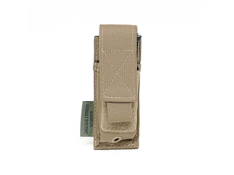 Подсумок для пистолетного магазина Direct Action Single DA 9mm Pistol Pouch Warrior Assault Systems, цвет – Coyote Tan