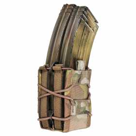 Подсумок MOLLE Double Quick Mag Warrior Assault Systems двойной, цвет – MultiCam